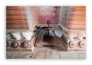 Oldest working 'Plansichter' machine in France