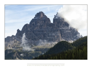 Tre cime early morning