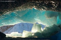 Icebergs in Joekulsarlon glacial lake